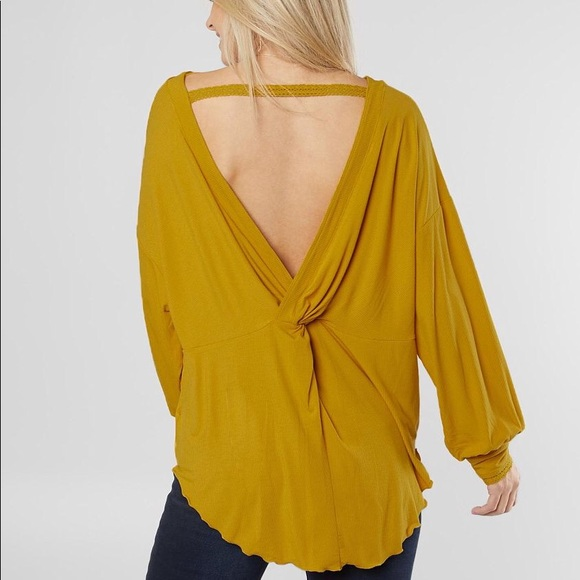 Free People Tops - NWT Free People Shimmy Shake Top Untamed Gold